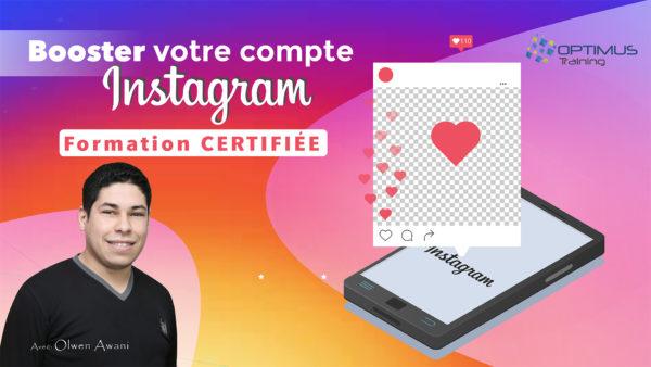 Formation INSTAGRAM PRO et Certifié - Tunisie